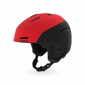 GIRO ジロー 19-20 ヘルメット 2020 NEO Matte Bright Red/Black ネオ スキーヘルメット メンズ アジアンフィット: