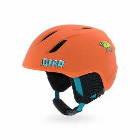 クーポン利用で10%OFF!2/17AMまで!GIRO ジロー 19-20 ヘルメット 2020 LAUNCH Matte Deep Orange Dinosnow ランチ スキーヘルメット ジュニア 軽量: