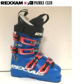 楽天イーグルス感謝際ポイント10倍!18-19 REXXAM レクザム スキーブーツ Power MAX-95 パワーマックス95(BX-Sインナー)〔2019 中・上級者モデル 基礎スキー オールランド 〕 (BLUE):X2JL-725P 「0604BOOT」