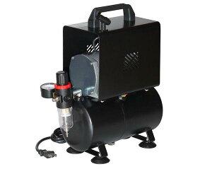 イリイ エアブラシ用エアーコンプレッサー 3Lタンク付き静音タイプ