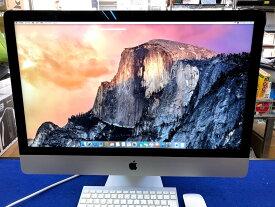 iMac27インチ/Core i5-2.9 GHz/メモリ16G/Fusion Driv4500GB(SSD500GB+HDD4TB)/A1419/Late2012(iMac13,2)MD095J/A