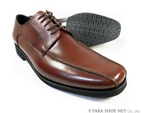 Christian Carano(クリスチャン カラノ)本革 スワールモカ ビジネスシューズ 茶色 3E(EEE)〜4E(EEEE)27.5cm、28cm(28.0cm)、28.5cm、29cm(29.0cm)、29.5cm、30cm(30.0cm)/大きいサイズ・メンズ・革靴・紳士靴