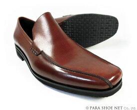Christian Carano(クリスチャン カラノ)本革 ヴァンプ スリッポン ビジネスシューズ 茶色 ワイズ3E(EEE)〜4E(EEEE) 27.5cm、28cm(28.0cm)、28.5cm、29cm(29.0cm)、29.5cm、30cm(30.0cm)/大きいサイズ(ビッグサイズ)革靴・紳士靴