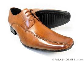 LASSU&FRISS スワールモカ ビジネスシューズ 茶色(ブラウン)ワイズ(足幅)3E(EEE)27.5cm、28cm(28.0cm)、29cm(29.0cm)、30cm(30.0cm) 【大きいサイズ(ビッグサイズ)紳士靴】