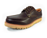 CAPSTONEUチップ厚底・防水ビジネスカジュアルシューズダークブラウンワイズ3E(EEE)28cm(28.0cm)、29cm(29.0cm)、30cm(30.0cm)【大きいサイズ(ビッグサイズ)メンズ紳士靴】