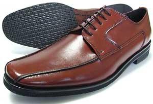 人間讃歌 KANSAI YAMAMOTO 本革 スワールモカ ビジネスシューズ 茶色 3E(EEE)〜4E(EEEE)27.5cm、28cm(28.0cm)、28.5cm、29cm(29.0cm)、29.5cm、30cm(30.0cm)/大きいサイズ・メンズ・革靴・紳士靴