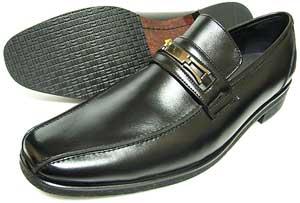 人間讃歌 KANSAI YAMAMOTO 本革 ビットローファー ビジネスシューズ 黒 3E(EEE)〜4E(EEEE)27.5cm、28cm(28.0cm)、28.5cm、29cm(29.0cm)、29.5cm、30cm(30.0cm)/大きいサイズ・メンズ・革靴・紳士靴