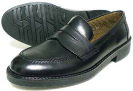 Mr.Cornell 本革 ローファー ビジネスシューズ 黒 22cm(22.0cm)、22.5cm、23cm(23.0cm)、23.5cm、24cm(24.0cm)/小さいサイズ・メンズ・革靴・紳士靴