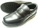 After Golf(アフターゴルフ)本革 モカスリッポン ビジネスシューズ 黒(ブラック) ワイズ4E(EEEE)【メンズ革靴・紳士靴・小さいサ…