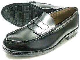 TALPA クラリーノ コインローファー 黒 3E(EEE)/メンズ・紳士靴・学生靴・通学靴