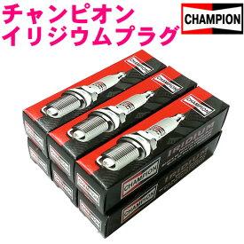 チャンピオン イリジウムプラグ [9803 6本]クライスラー ジープ チェロキー GH-KJ37【あす楽対応_近畿】楽天カード分割