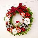 [送料無料][クリスマスリース][クリスマス花 ][クリスマス][誕生日花][お歳暮花]【RCP】【HLS_DU】【楽ギフ_メッセ入力】【オススメ】【売れ筋】
