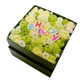 送料無料[ボックスアレンジ]バラ誕生日花お洒落アレンジ【HLS_DU】【RCP】【楽ギフ_メッセ入力】【オススメ】【売れ筋】