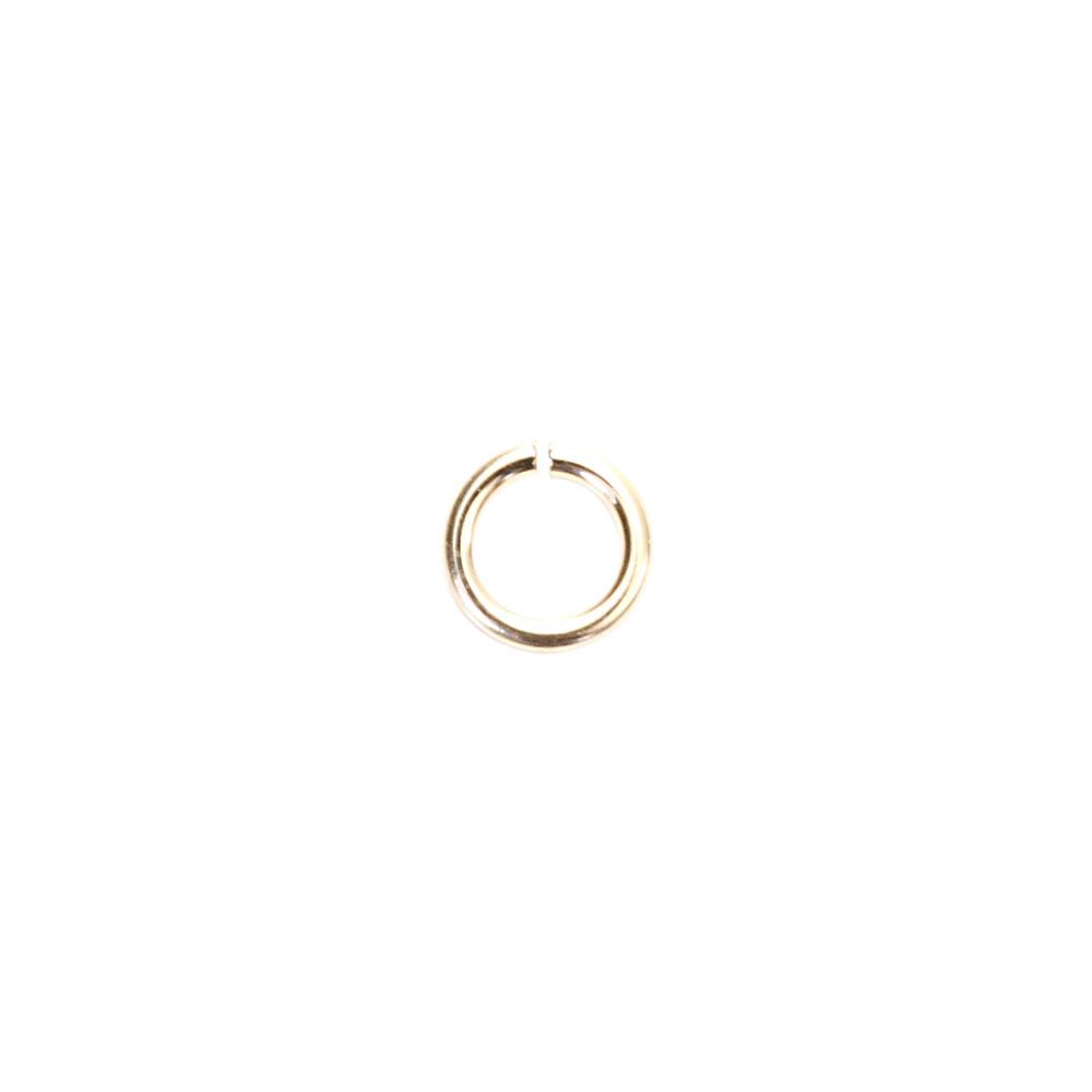 ★タイムセール20%OFF★ 【USA製】14KGFパーツ ゴールドフィルド 丸カン 0.5×3.0mm 1個
