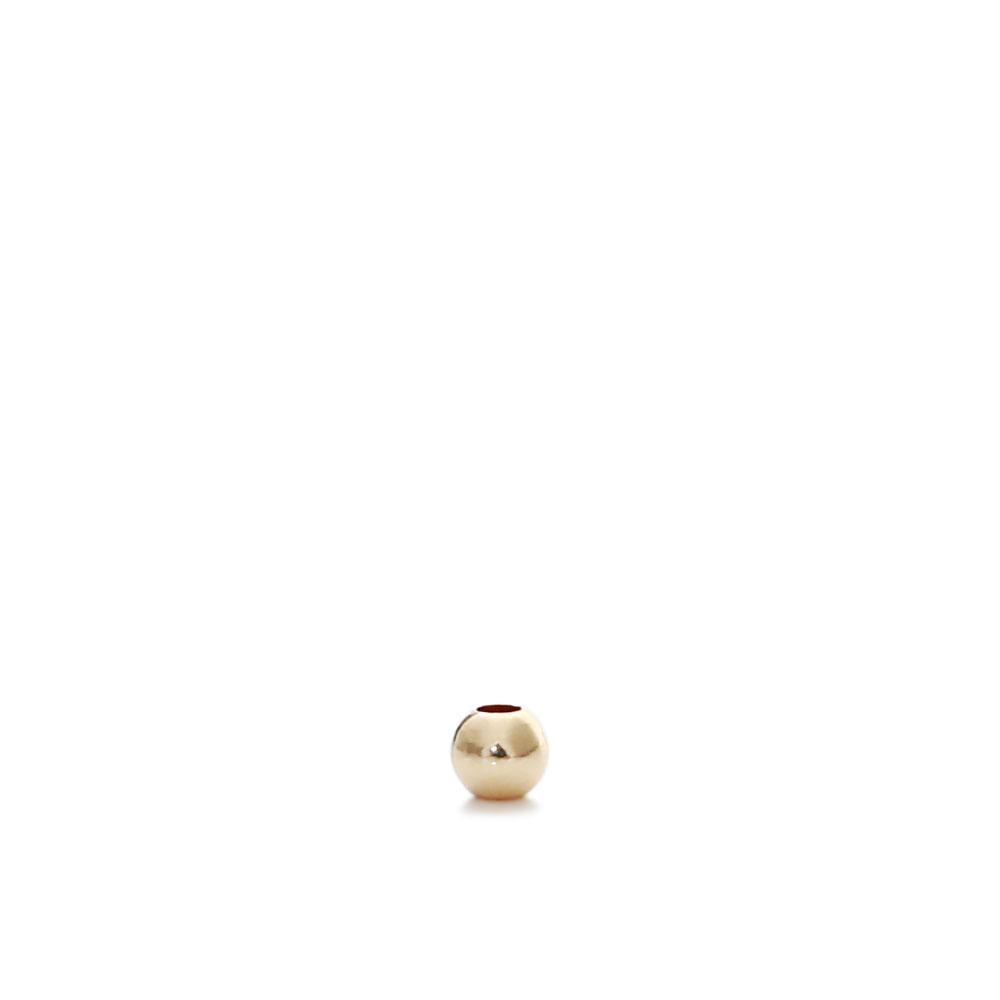 ★タイムセール20%OFF★ 【USA製】14KGFパーツ ゴールドフィルド ビーズ ラウンド 2mm 1個