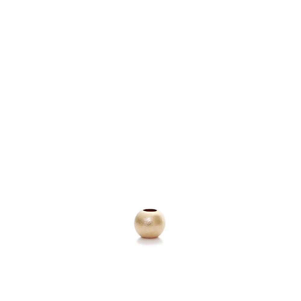 ★タイムセール20%OFF★ 【USA製】14KGFパーツ ゴールドフィルド ビーズ サンドブラスト 2mm 1個