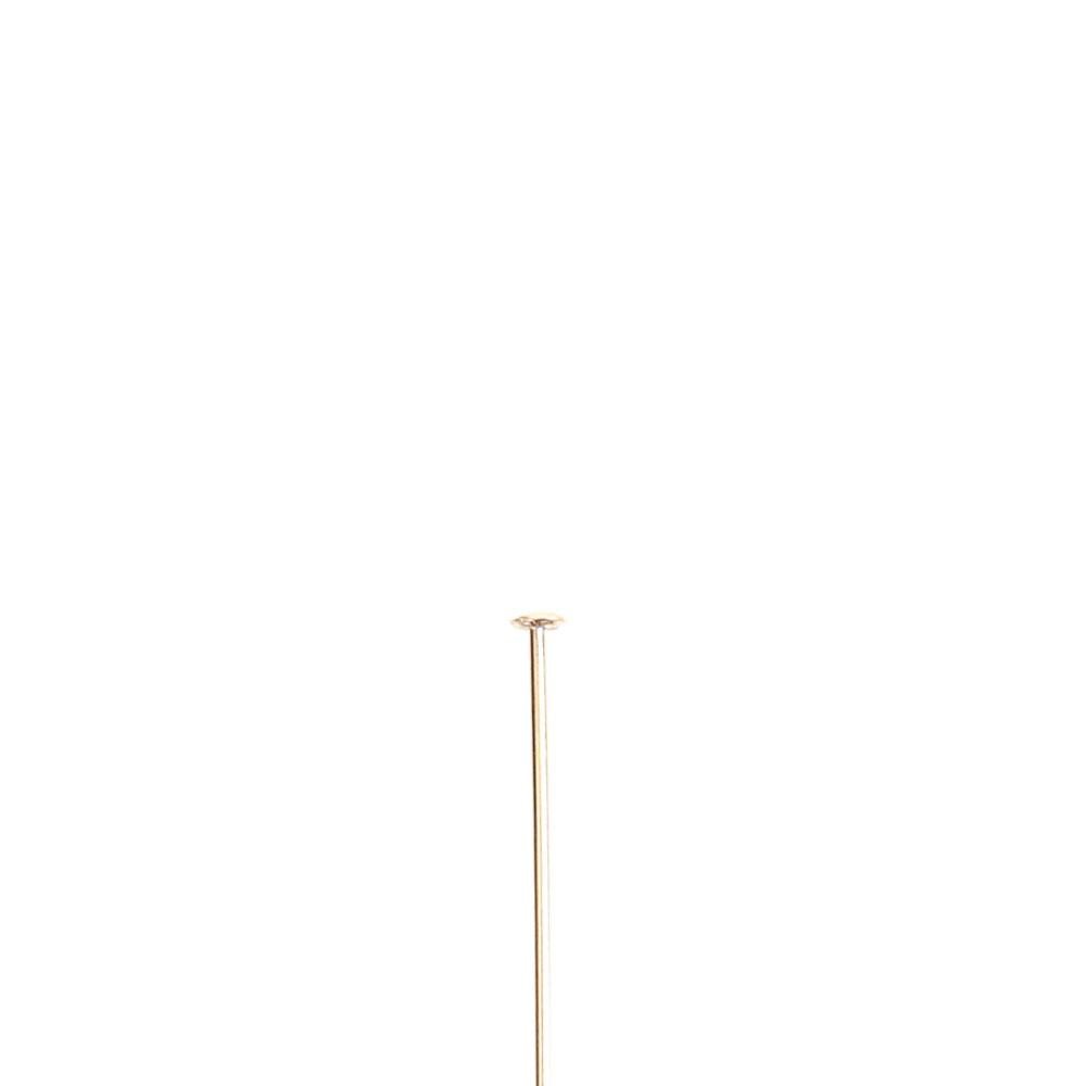 ★タイムセール20%OFF★ 【USA製】14KGFパーツ ゴールドフィルド Tピン 0.5×12.7mm 1本