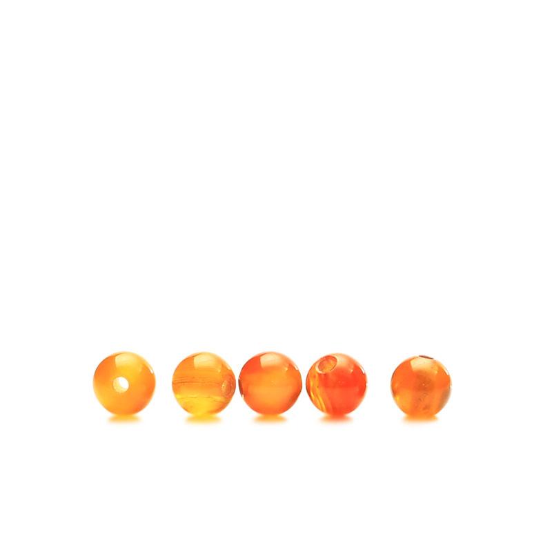 ★タイムセール20%OFF★ カーネリアン 4mm 5個