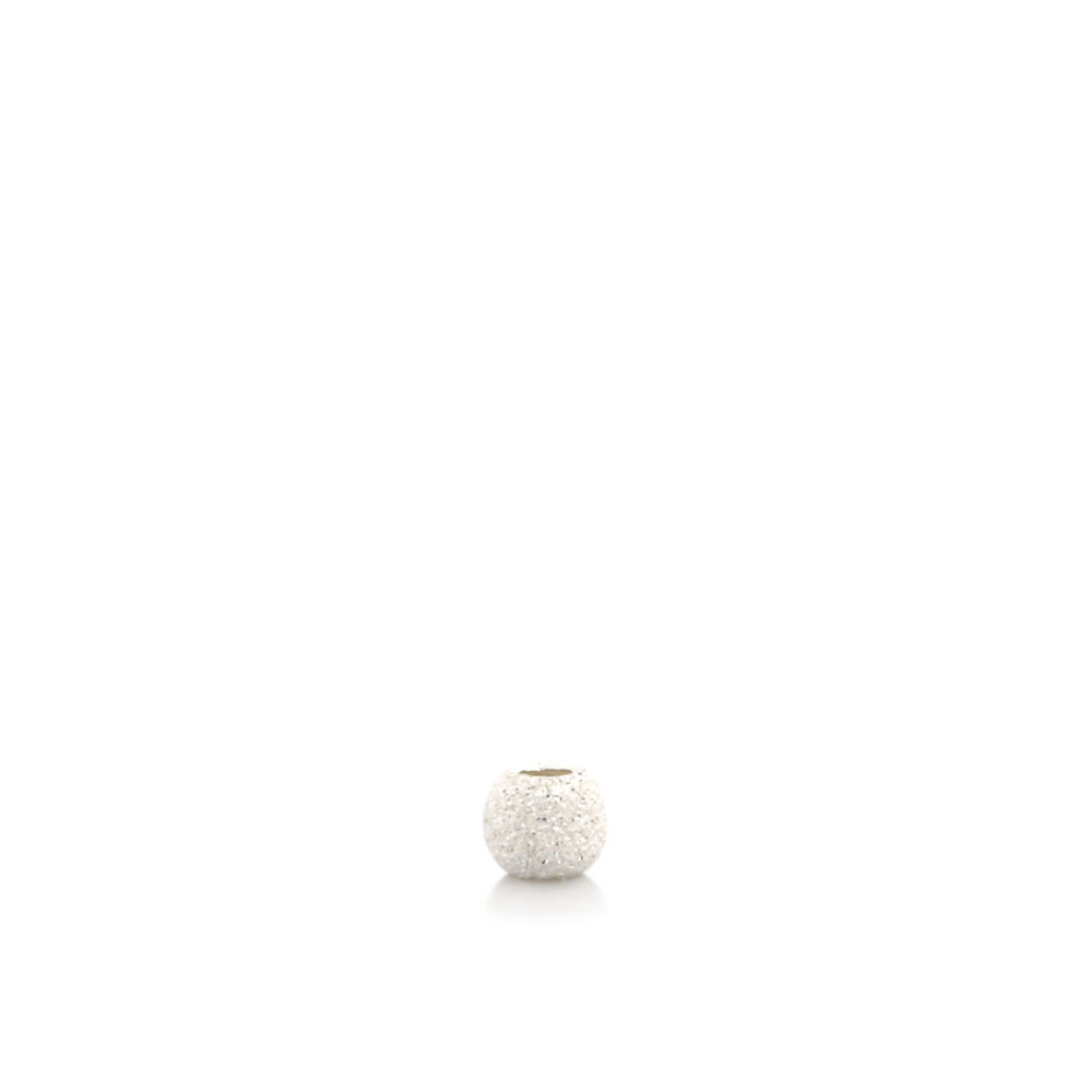 ★タイムセール20%OFF★ 【USA製】シルバー925パーツ ビーズ スターダスト 2mm 1個