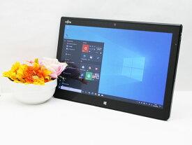 【中古】あす楽 送料無料 タブレット Windows10 富士通 Arrows Tab Q704/H Core i5 4300U 1.9GHz メモリ 4GB SSD 128GB Cランク N4