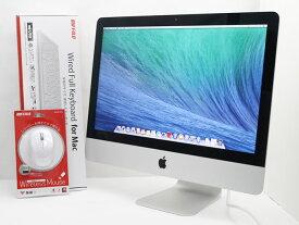 【中古】送料無料 Apple アップル iMac 21.5-inch,Late 2013 ME086J/A Core i5 4570R 2.70GHz メモリ 8GB HDD 1TB T14