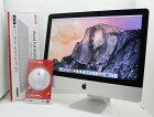 【中古】送料無料 21.5インチ Apple アップル iMac 21.5-inch,Late 2013 BTO Core i7 4770S 3.1GHz メモリ 16GB HDD 1TB T12
