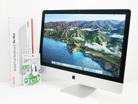 【中古】送料無料 大画面27インチ 高画質 Retina 5Kディスプレイ Apple アップル iMac 27-inch Late 2014 BTO Core i7 4790K 4.0GHz メモリ16GB FusionDrive 3TB F38