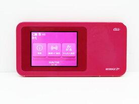 【送料無料】【クリックポスト】au Speed Wi-Fi NEXT W01 ピンク WiMAX 2+に対応したモバイルWi-Fiルーター【代引き不可】【中古】