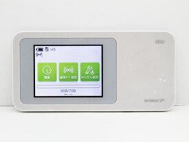 【送料無料】【クリックポスト】au Speed Wi-Fi NEXT W01 ホワイト WiMAX 2+に対応したモバイルWi-Fiルーター【代引き不可】【中古】