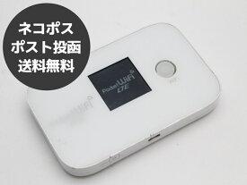【送料無料】【ネコポス】Pocket WiFi LTE GL04P ホワイト イーモバイル Y!mobile ネットワーク利用判定△ モバイルルーター【代引・日時指定不可】【中古】