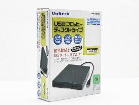 【新品】送料無料 オウルテック Owltech USB外付けフロッピーディスクドライブ OWL-EFD/U(B) 黒 ブラック