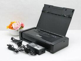 送料無料 EPSON エプソン PX-S05B ビジネスプリンター Wi-Fi対応 バッテリー内蔵 モバイルA4プリンター G1【中古】