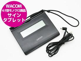 【クリックポスト】【送料無料】Wacom ワコム 4:1型モノクロ液晶 サインタブレット STU-300/03 【中古】【代引き不可】