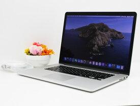 【中古】あす楽 Apple Macbook Pro アップル 15-inch,Early 2013 ME664J/A Core i7 3635QM 2.4GHz メモリ 16GB SSD 512GB スピーカー音割れ有り マックブックプロ Cランク G26