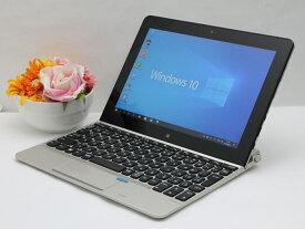 【中古】あす楽 送料無料 タブレットPC Windows10 NEC VersaPro PC-VK16XT1GR Atom x7-Z8750 1.6GHz メモリ 4GB eMMC 64GB デタッチャブルキーボード・デジタイザーペン付属 Bランク F3