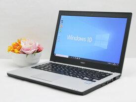 【中古】あす楽 送料無料 WEBカメラ ノートパソコン Office付き Windows10 NEC VersaPro UltraLite PC-VK23シリーズ Core i3 6100U 2.3GHz メモリ 8GB 新品SSD256GB Cランク E2