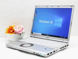 【中古】ノートパソコン Office付き Windows10 Panasonic Let's note CF-SZ5ADAKS Core i5 6300U 2.4GHz メモリ 4GB 新品SSD 256GB レッツノート Cランク E6