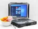 【中古】あす楽送料無料タフブックMicrosoftOffice2019付きWindows10PanasonicTOUGHBOOKCF-19AW1ADSCorei52520M2.5GHzメモリ8GB新品SSD256GBBランクH6