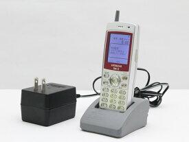 【大量入荷中】中古 PHS 日立 HI-D6 PS2(D6-2)ビジネスフォン デジタルコードレス 電話機 卓上ホルダ ACアダプタ付属 安心の初期化&動作確認済み 送料無料 100日保証 P9