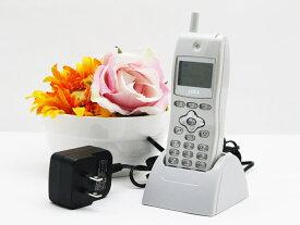 中古 沖電気 OKI デジタルコードレス電話機 UM7700 ビジネスホン 卓上ホルダ ACアダプタ付属 送料無料 100日保証 D2