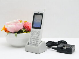 【大量入荷中】中古 PHS 電話機 Fujitsu WX01J(F)FSP8WX1J 電池パック 卓上ホルダ ACアダプタ付属 安心の初期化&動作確認済み 送料無料 100日保証 P3