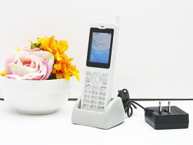 【大量入荷中】中古 PHS 電話機 Fujitsu WX01J A(F)FSP8WX1J3 電池パック 卓上ホルダ ACアダプタ付属 安心の初期化&動作確認済み 送料無料 100日保証 P4
