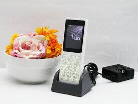 【大量入荷中】中古 PHS 電話機 WILLCOM WX330J-Z E 電池パック 卓上ホルダ ACアダプタ付属 安心の初期化済み 水没反応有り 送料無料 100日保証 P6