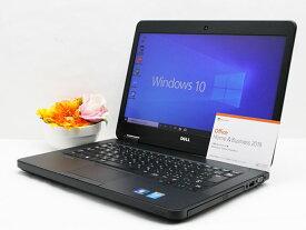 【中古】あす楽 WEBカメラ搭載 送料無料 ノートパソコン Microsoft Office 2019付き Windows10 DELL Latitude E5440 Core i7 4600U 2.1GHz メモリ8GB 新品SSD256GB DVD-RW Bランク J12