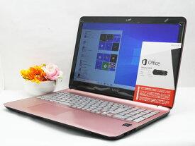 【中古】あす楽 WEBカメラ搭載 テレワークに最適 送料無料 ノートパソコン Microsoft Office付き Windows10 SONY VAIO Fit 15E VJF152C11N 第4(Haswell)世代 Celeron 2957U 1.4GHz メモリ 8GB 新品SSD256GB DVD-RW Bランク N13