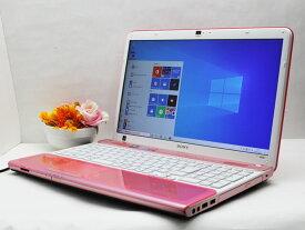 【中古】あす楽 WEBカメラ搭載 テレワークに最適 送料無料 ノートパソコン Office付き Windows10 SONY VAIO Cシリーズ VPCCB3AJ Core i5 2430M 2.4GHz メモリ 8GB 新品SSD256GB DVD-RW Bランク N19