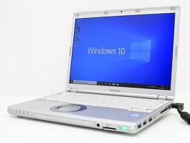 【中古】あす楽 ノートパソコン Office付き Windows10 Panasonic Let's note CF-SZ6RDYVS Core i5 7300U 2.6GHz メモリ 8GB 新品SSD 512GB 新品キーボード レッツノート Bランク J26