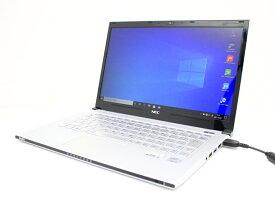 【中古】あす楽 送料無料 ノートパソコン Office付き Windows 10 NEC VersaPro UltraLite PC-VK18TGZDG Core i5 3337U 1.8GHz メモリ4GB SSD256GB Bランク J2