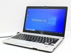 【中古】あす楽 送料無料 ノートパソコン Office付き Windows10 富士通 LIFEBOOK S935/KXシリーズ Core i5 5300U 2.3GHz メモリ 4GB 新品SSD256GB Bランク M7
