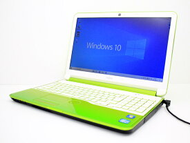 【中古】あす楽 送料無料 ノートパソコン Office付き Windows10 富士通 LIFEBOOK AH54/H FMVA54HG Core i5 3210M 2.5GHz メモリ 8GB 新品SSD 256GB ブルーレイ Bランク Q19